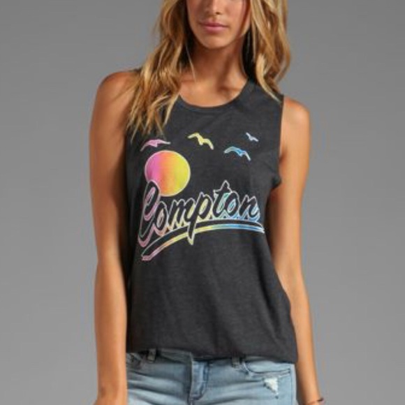 local celebrity Tops - LOCAL CELEBRITY - Compton muscle tank, size Med